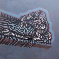 sedation, sedatie, schilderij, acrylverf op doek, Painting, Acrylic on Canvas, art, kunst, kunstenaar, artist