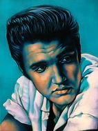 Elvis Presley,  Schilderij, portret, acrylverf op doek, Portrait, Painting, Acrylic on Canvas, art, kunst, kunstenaar, artist