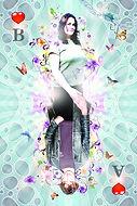 photoshop, trouwkaart, wedding card, arjan brenda, kaartspel, card game, illustratie, illustration