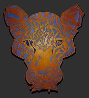 leopard, luipaard, schilderij, kunst, Drie dimensionaal, Acryl op hout, Art, 3D, Three Dimensional, acrylic on wood, art, kunstenaar, artist, paper