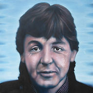 Paul McCartney, Beatles, Schilderij, portret, acrylverf op doek, Portrait, Painting, Acrylic on Canvas, art, kunst, kunstenaar, artist
