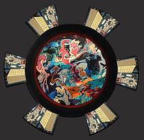 gear wheel, tandwiel, schilderij, kunst, Drie dimensionaal, Acryl op hout, Art, 3D, Three Dimensional, acrylic on wood, art, kunstenaar, artist, paper