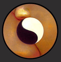 Yin en yang, Yin and yang, kus, kiss, photoshop, tekening, drawing, illustratie