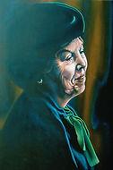 Beatrix, koningin, oranje, Schilderij, portret, acrylverf op doek, Portrait, Painting, Acrylic on Canvas, art, kunst, kunstenaar, artist