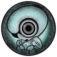 cd label, tekening, drawing, illustrator,  illustratie, illustration