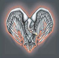 gier, vulture, liefde, love, hart, heart, drawing, tekening, photoshop,  illustratie, illustration