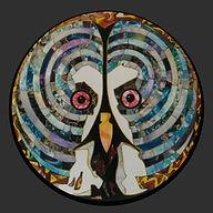 uil, owl, schilderij, kunst, Drie dimensionaal, Acryl op hout, Art, 3D, Three Dimensional, acrylic on wood, art, kunstenaar, artist, paper