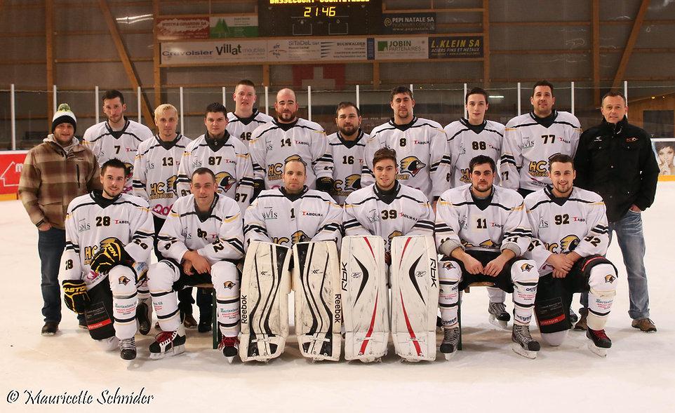 Photo d'équipe HCBassecourt