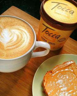 Bom Dia e Feliz Natal! Nada melhor do que começar o dia com um bom café da manhã!_Cappuccino (italia