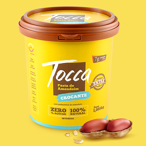 1kg - Pasta de Amendoim   Crocante