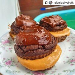 A super _rafaellaoliveirafit fez uma receita incrível com nossa Pasta de Amendoim _tocca_oficial con