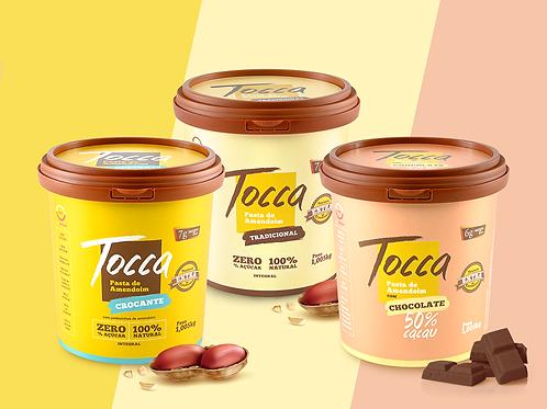 Pack 3 und -  1 Kg | Tradicional, Crocante e Chocolate 50% Cacau