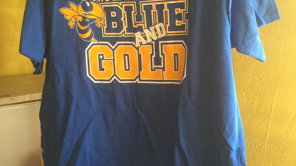 It's All About The Blue and Gold