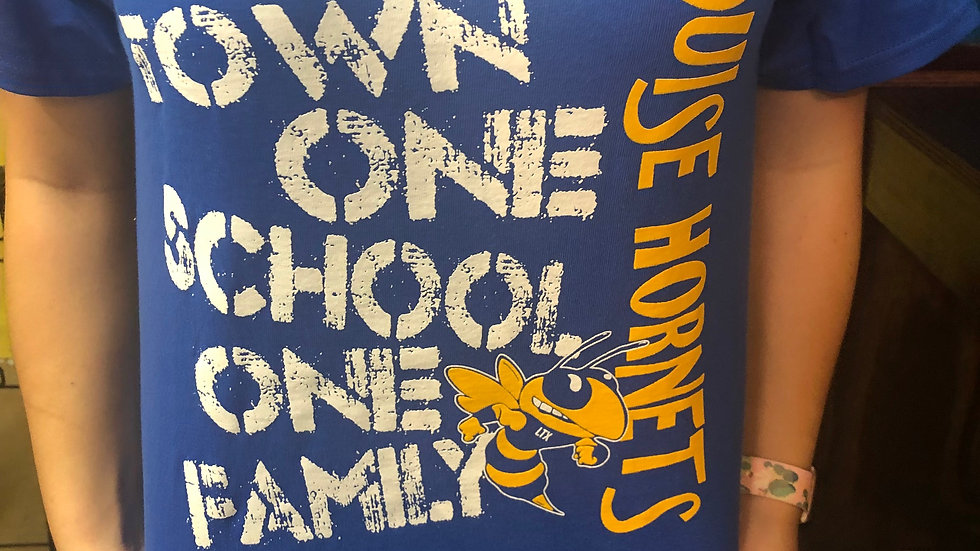 One Town One School Shirt