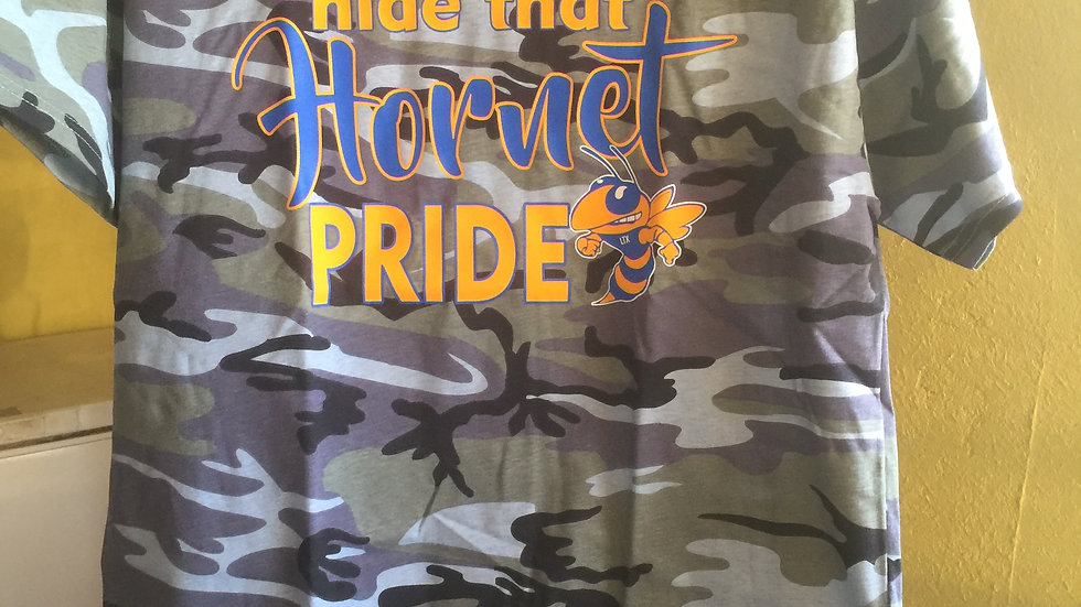 Camo Can't Hide That Hornet Pride