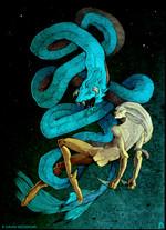 Apollon et le python