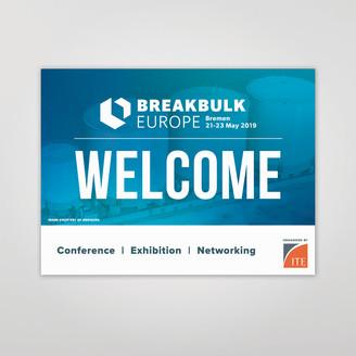 Breakbulk Europe Welcome Banner