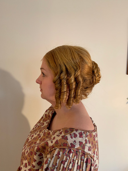 1840s Wig Style