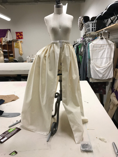 Constance's Dress Half Scale Test