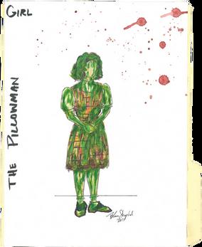 """Green Girl - """"The Pillowman"""""""