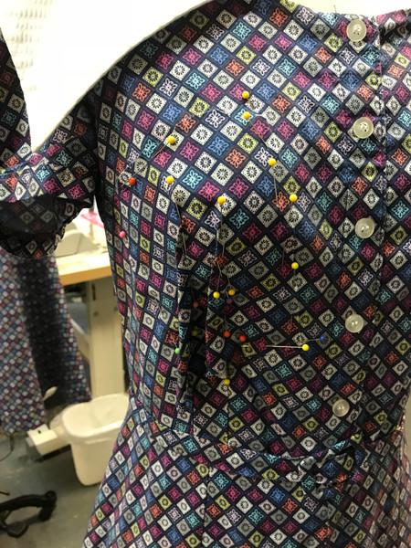 Patch Pattern Matching on Original Poverty Dress