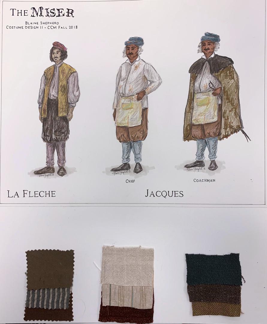 La Flece & Jacques - 1670s Design