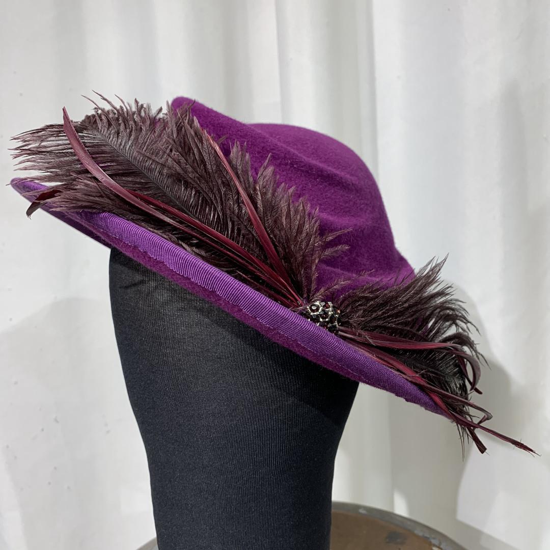 Stretched Felt Hat