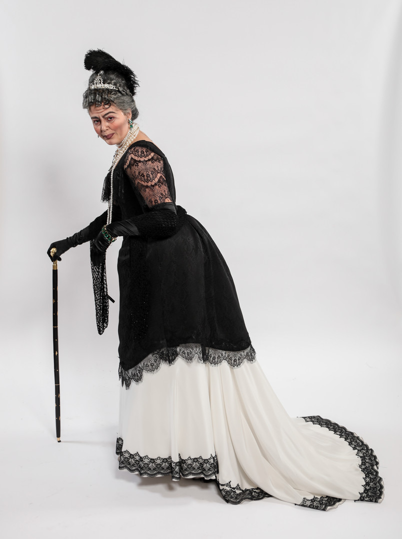 Lady Jedburgh's Bodice, Apron, & Skirt
