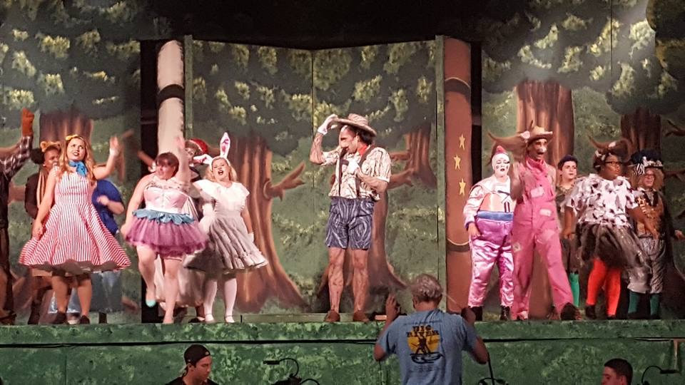 Sugarplum Fairy's Tutu & Pinocchio's Painting