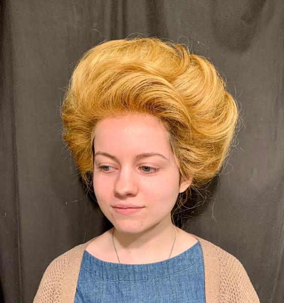 Edwardian Wig Style