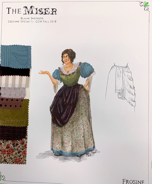 Frosine - 1670s Design