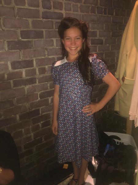 Young Eva's Poverty Dress (Patterning)
