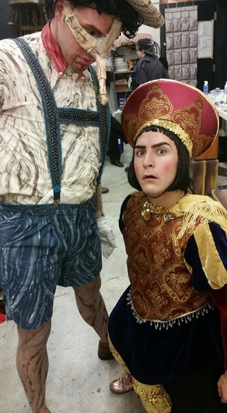 Pinocchio's Painting & Lord Farquaads Doublet