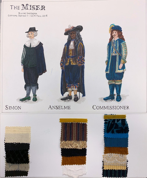 Simon, Anselme, & Commissioner - 1670s Design