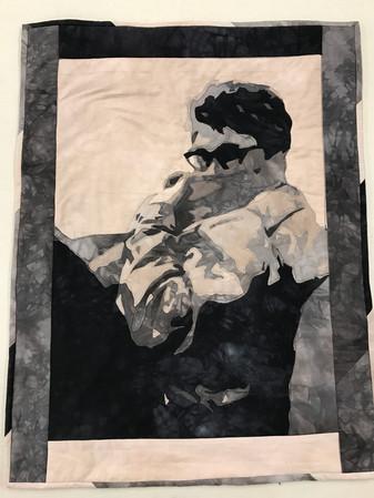 """""""Appliqué Self Portrait"""""""