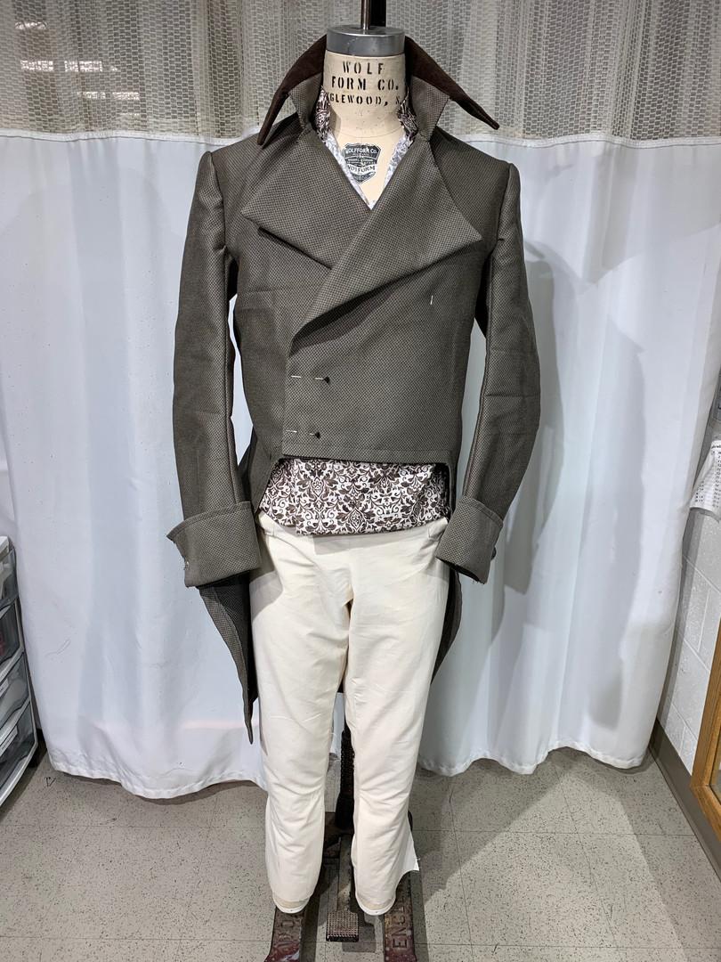 Late 18th Century Coat, Waistcoat, and Breeches