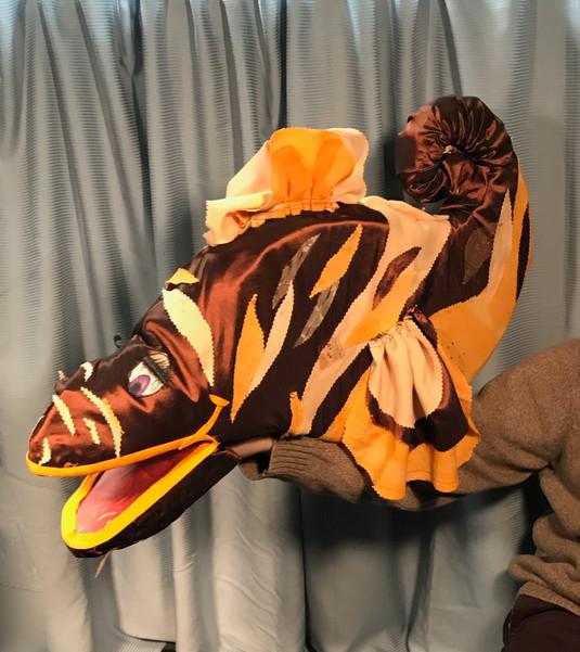 Fish Puppet