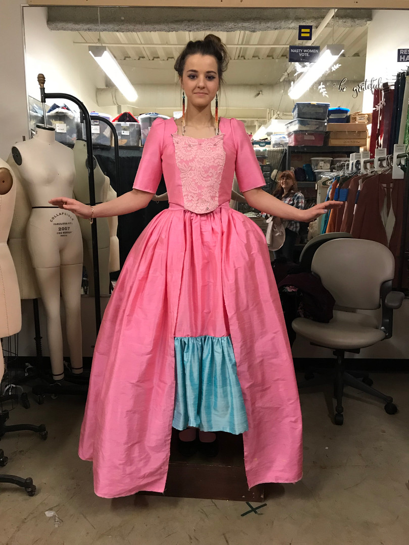 Constance's Dress Final Fitting