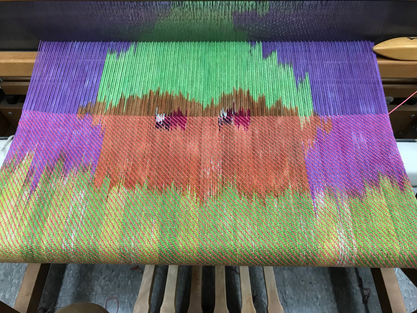 Ikat weaving