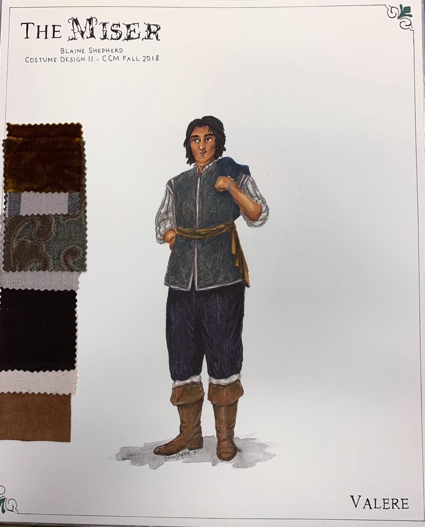 Valere - 1670s Design