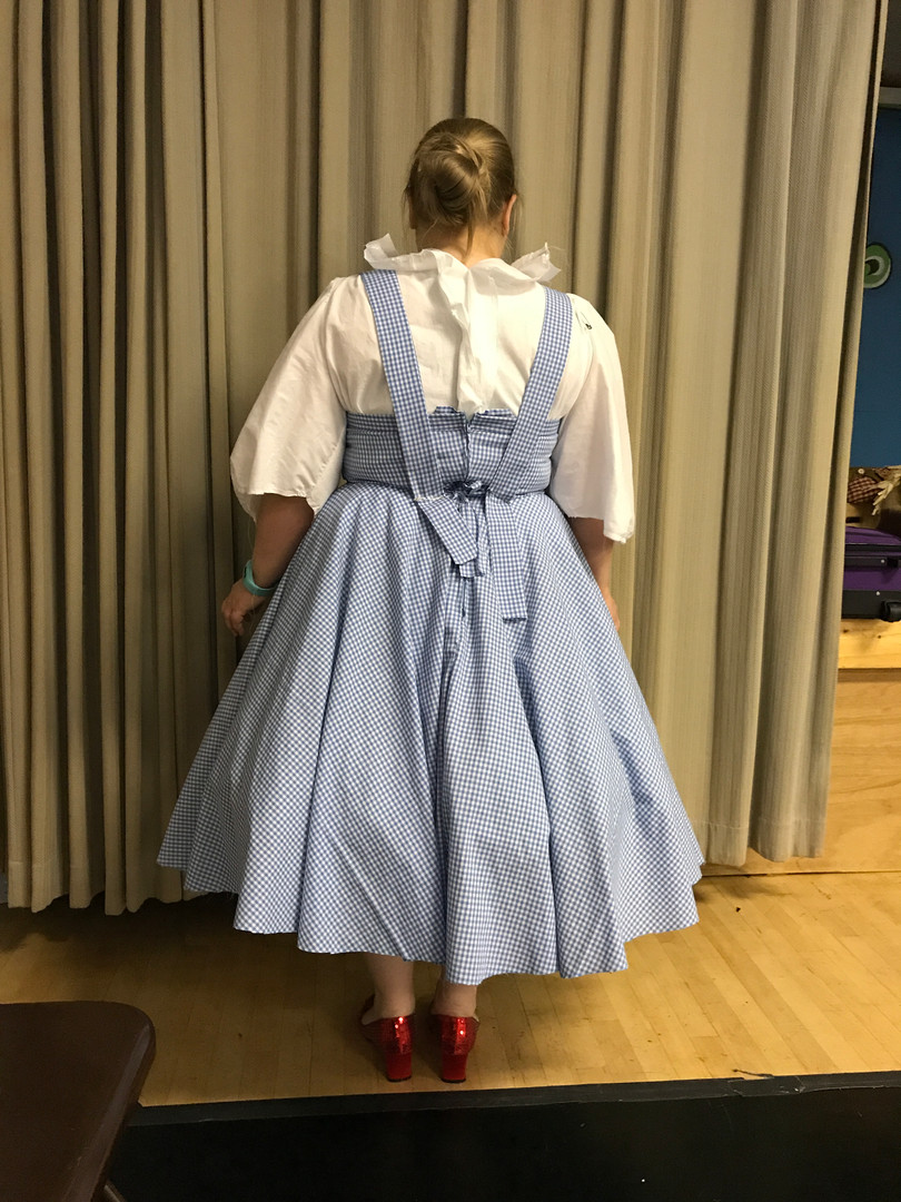 Dorothy's Pinafore and Blouse Fitting (Draping, Patterning, & Construction)
