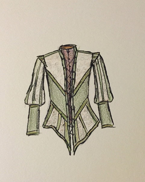 Lord Farquaad's Wedding Doublet Design