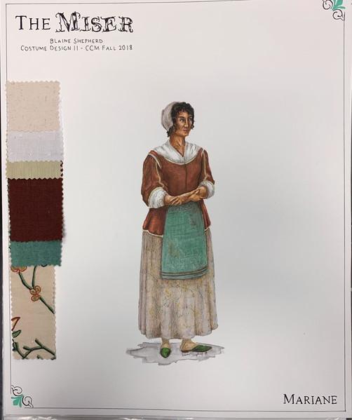 Mariane - 1670s Design
