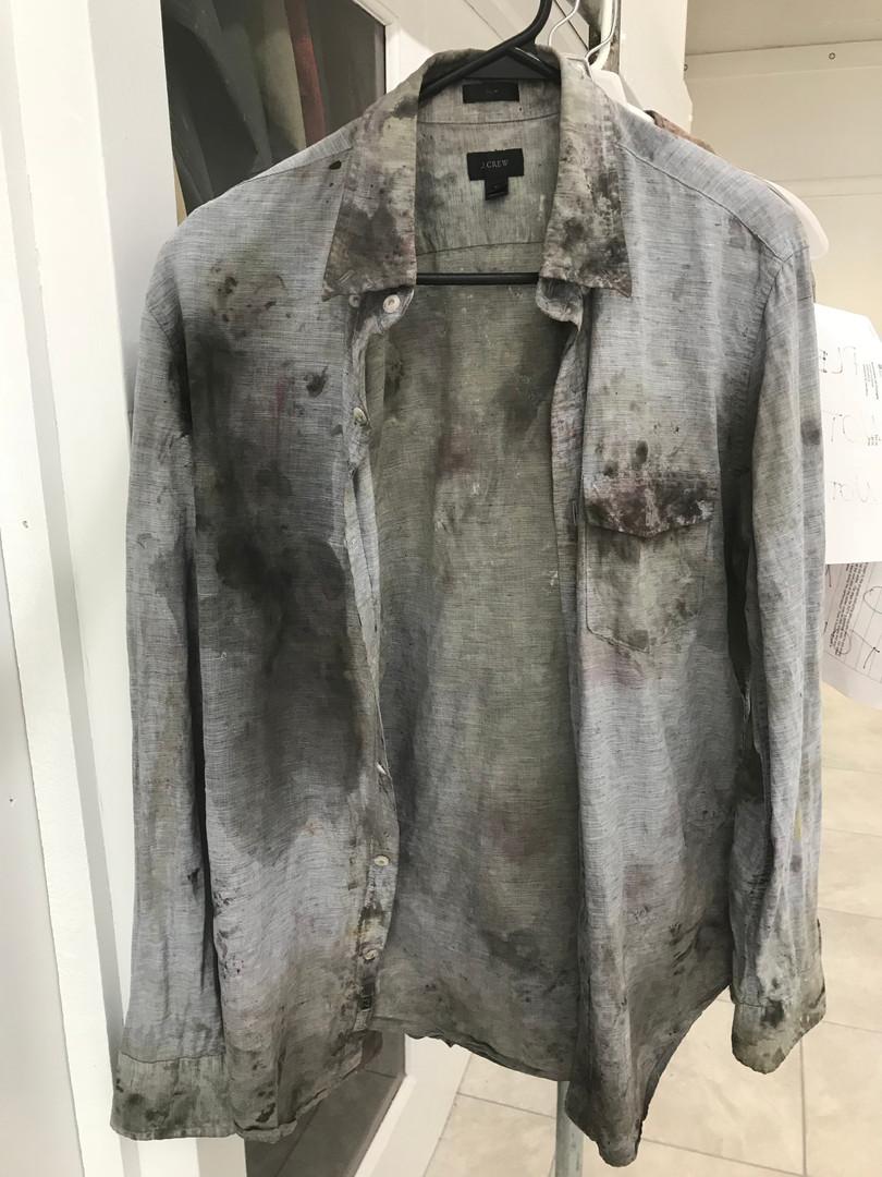 Distressed Ensemble Shirt