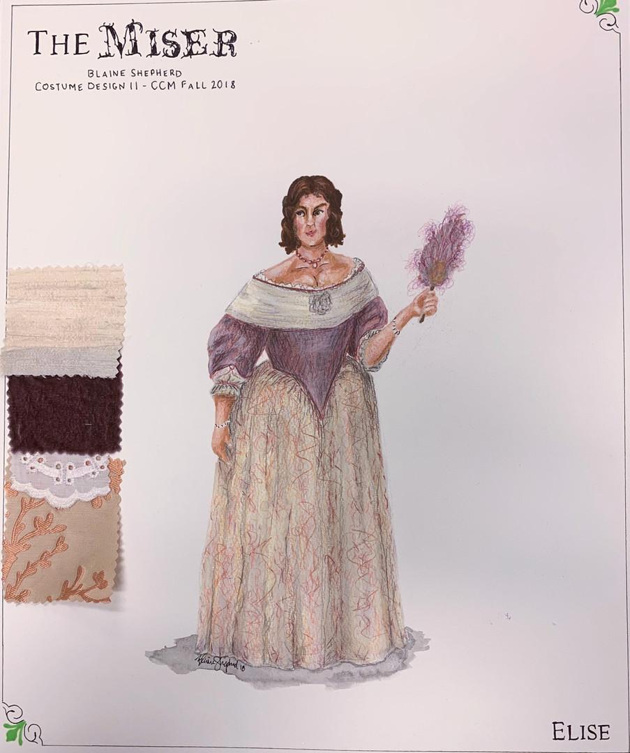 Elise - 1670s Design