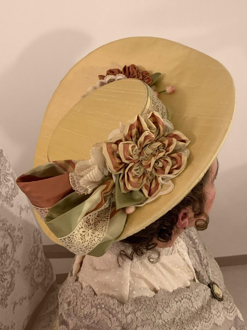 Edwardian Buckram Hat