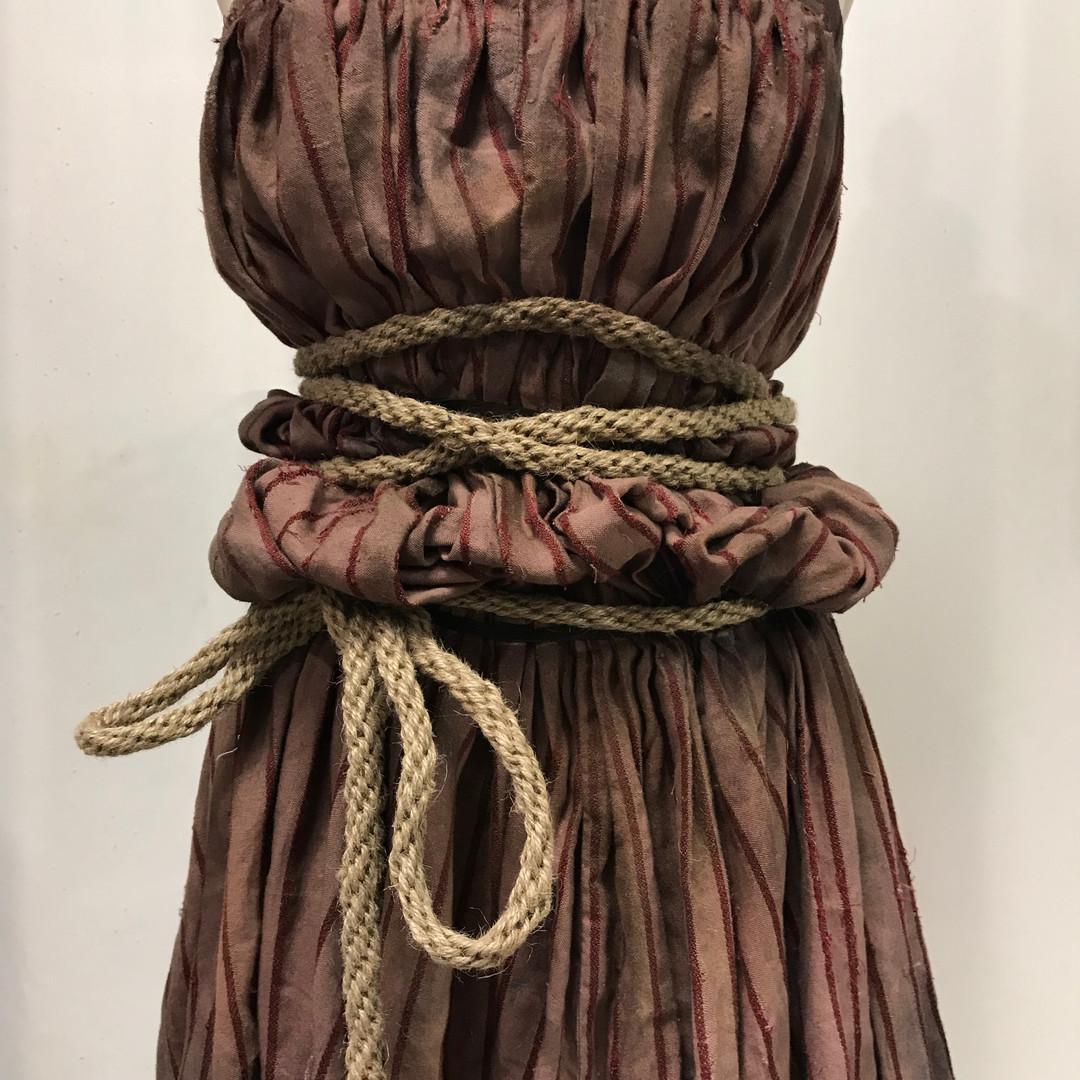 Kumihimo Rope and Distressing