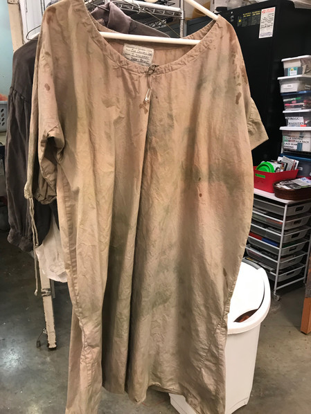 Chemise Overdyeing/Distressing