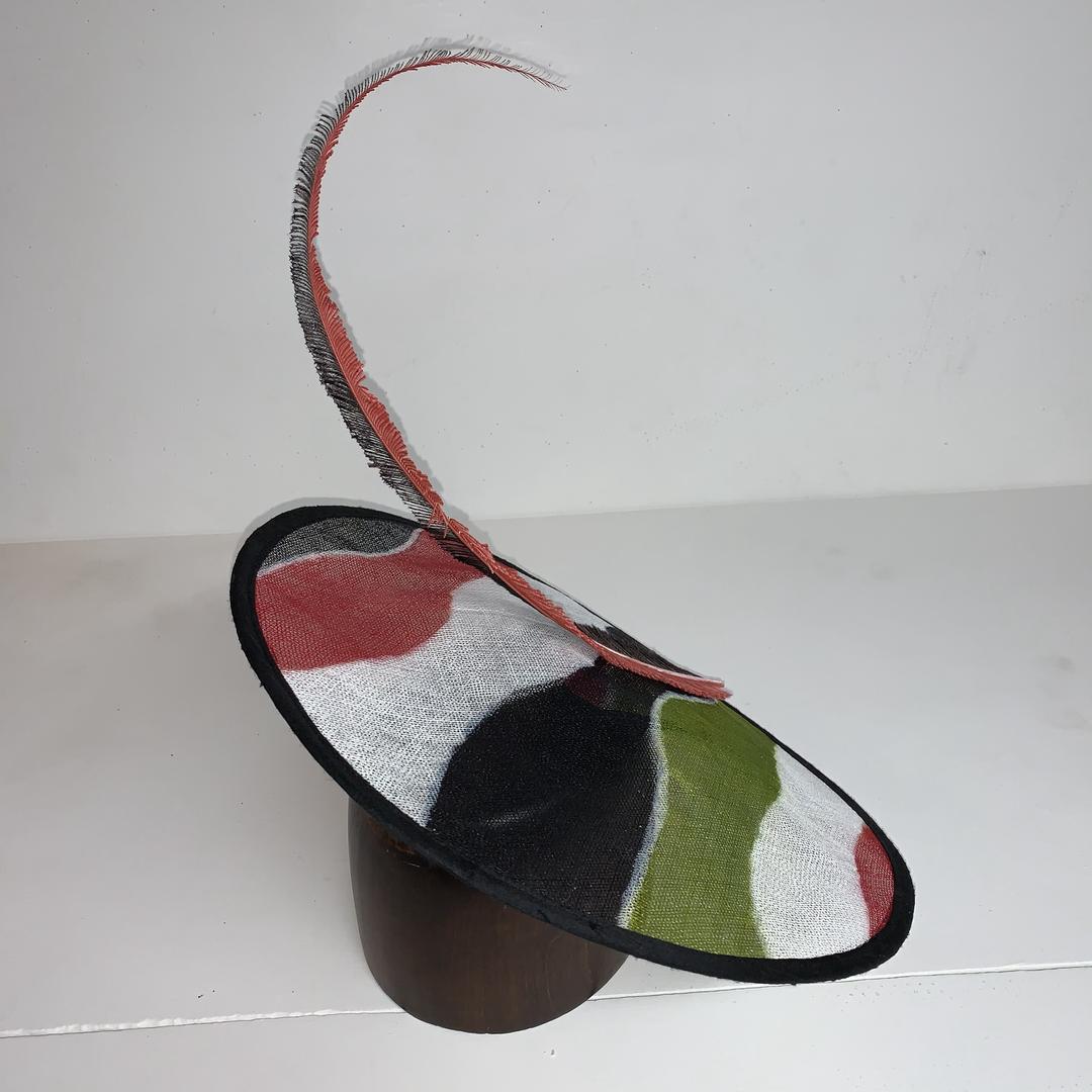 Dye Painted Sinamany Hat