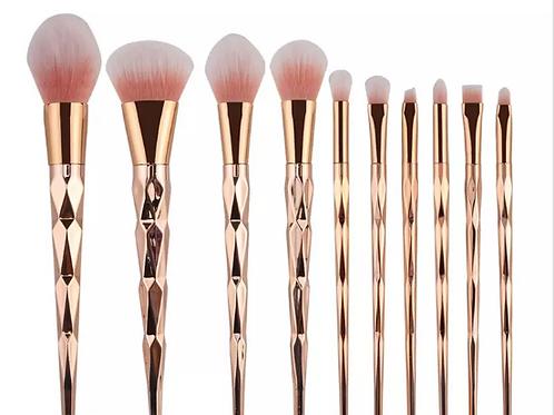 Rose Gold Professional Brush Set